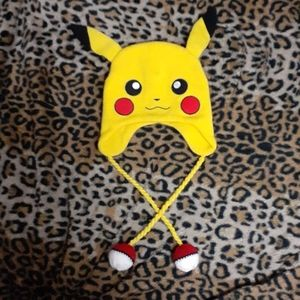 Pokemon Pikachu Winter Knit Hat